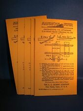 Envelopes for American Flyer 690 Track Terminals - 40