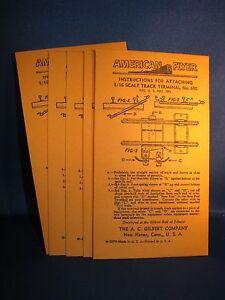 Envelopes for American Flyer 690 Track Terminals - 40