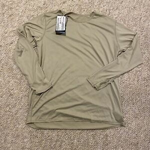 Polartec Gen III PowerDry Undershirt Long Underwear Base Layer Shirt Top Large