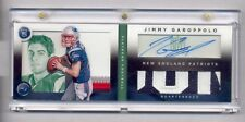 JIMMY GAROPPOLO 2014 PLAYBOOK AUTO LOGO NAME PLATE PATCH AUTO RC #5/25 BOOKLET