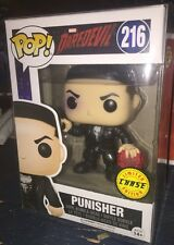 Funko Pop! Punisher Daredevil Mask Chase #216 Netflix Limited W Pop Protector