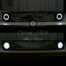 For 2008 2009 2010 Scion xB Bumper Grille w/ SMD Halo Led Fog Lamp Lights Kit