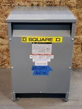NEW Square D 45kva Transformer 3 Phase 480v-208v/120v Delta Wye 460v 220v EE