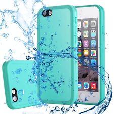 Waterproof Shockproof DIRTPROOF Slim iPhone Case Cover for iPhone 7 Plus 6s 6 iPhone 5 | 5s | SE MINT Green