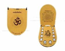 Shri Jyotirlingam Darshan Pure Silver 999 Coins Avatar Of Lord Shiva With Yantra