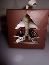 NIB The Body Shop Coconut Gift Set Cube Body Milk Cream Shower Gel Pouf