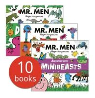 Mr. Men Adventures Collection - 10 Story Books Brand New Adventure with Pirates