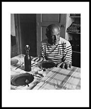 Robert Doisneau les Pains de picasso póster son impresiones artísticas con marco de aluminio 60x50cm