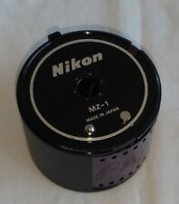 NIKON CASSETTE MZ-1 come with Leather Case for Nikon MF-4