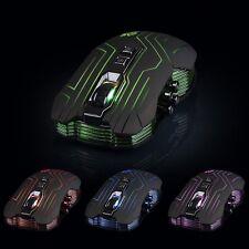 9D 3200DPI Optical 2.4G Wireless Gaming Mouse For DotA FPS Laptop PC Gamer New