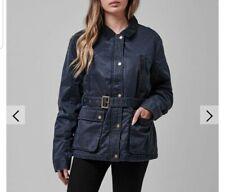 Jack Wills Wax Jacket Coat. Size 12. Medium. Barbour JOULES