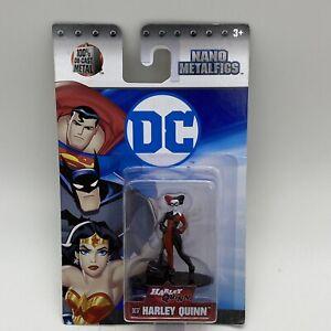 DC Super Heroes Nano Metalfigs Harley Quinn Diecast Series by Jada New on Card