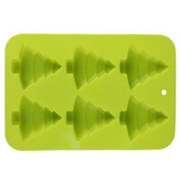 3D Christmas Tree Shape Silicone Soap Mold DIY Pudding Jelly Mold Durable JG