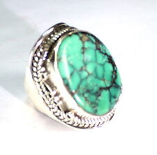 Exquisite Turquoise .925 Sterling Silver Ring