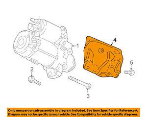 GM OEM Starter-Heat Shield 12654121