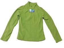 Forro Polar Softee Cook Color Verde Talla 14 para niños de 14 años.