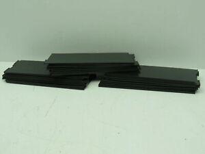 "Akro-Mils 40-150 Black Plastic Bin Divider 7.7"" x 2.9""  LOT OF 24"