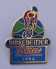 RARE CYCLING PIN BADGE > BIRKEBEINERRITTET > LILLEHAMMER 1994 OLYMPIC GAMES