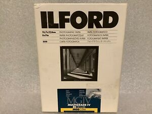 Ilford Multigrade IV RC Deluxe Satin MGD.25M 5x7 Photographic Paper: 250 Sheets