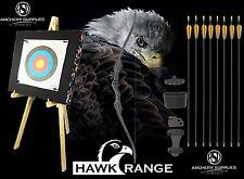 ASD Hawk Black Recurve Junior Archery Bow Starter Pack
