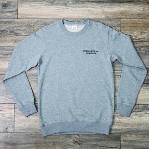 Scroobius Pip Official Merch Sweatshirt Large Grey Brand New L SDR Dan Le Sac