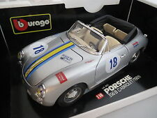 Umbau! Porsche 356B Cabriolet von 1961 in silbermetallic mit der No.18,Germinal!
