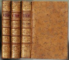 La Décadence et la Chute de l'Empire Romain de GIBBON Traduit LECLERC 1777 Ed Or