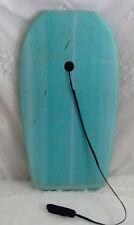 """Kahala Foam Core Boogie Board Bodyboard 34"""" inch w/ Ankle Leash Blue Green Aqua"""