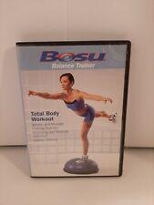 Bosu Balance Trainer Total Body Workout Dvd Aerobic Strength Flexibility Stretch
