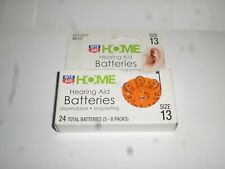 lot of 24 Rite Aid home hearing aid batteries size 13 expire 3/2019