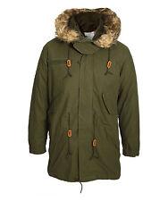 Alpha Hooded Coats & Jackets Long Parkas for Men