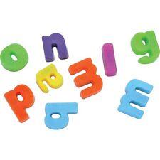MINI MAGNETIC LETTERS - FUN COLOURFUL MAKE WORDS FRIDGE letters KIDS dd