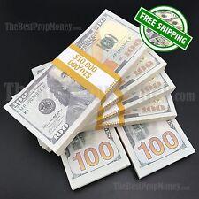 THE BEST PROP MONEY - $60,000 Blank Filler Stacks: Movies, TV, Film, Music Video