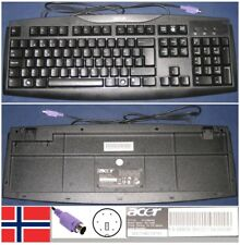Clavier Qwerty NO Norwegian ACER SK-1688 KB.6880B.064, KB6880B064 port PS/2