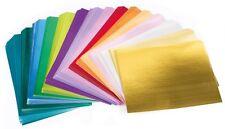 MEGA Spiegelkarton-Set 200 Bogen hochwertig A4 alle Farben - SONDERANGEBOT