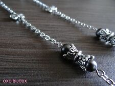 Sautoir / collier artisanal - Lucine - Oxo Bijoux