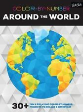 Color-by-Number: Around the World: 30+ fun & relaxing color-by-number projects