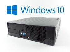 FSC Esprimo E5731 Escritorio E8400 Core2Duo 2x 3ghz 4gb Ram 250gb HDD DVD Win10
