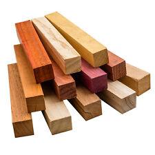 Assorted Hardwood Pen Blanks, 12-Pack
