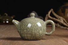 China Longquan Celadon Kung Fu Tea Set Teapot GeYao Xishi Teapot 220cc