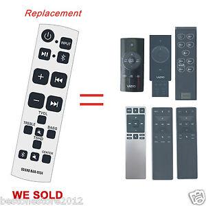 New Replacement Vizio SB VIZ4 Remote Control Fit for All Vizio Sound Bar