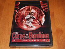 THE CURSE OF THE BAMBINO Babe Ruth Baseball History Red Sox World Series DVD NEW