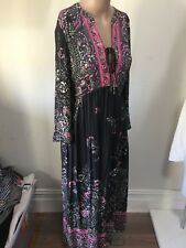 SZ  XS 8 FREE PEOPLE MAXI DRESS   *BUY FIVE OR MORE ITEMS GET FREE POST