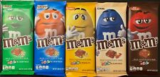 NEW M&M MILK CHOCOLATE BAR & MINIS 5 FLAVORS ALMOND PEANUT MINT CRISPY PICK ONE