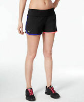 Ideology Woven Speed Running Shorts Noir Black Multi