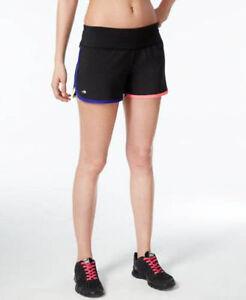 Ideology Woven Speed Running Shorts Noir Black Multi