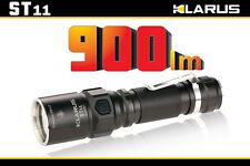 Klarus ST11 900 Lumens LED Flashlight - Uses 1x 18650 or 2x CR123A Batteries
