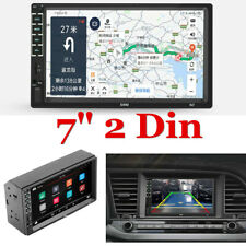 HD Touch Screen Multimedia Car Stereo Mirror Link Radio Player Double Din 7""