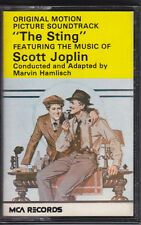 The  Sting  (original motion picture soundtrack) Cassette Tape album (MCLC 1735)