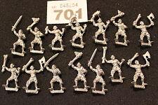 Harlequin Miniatures Ghouls Undead Zombies Regiment Army Metal Figures Mint OOP